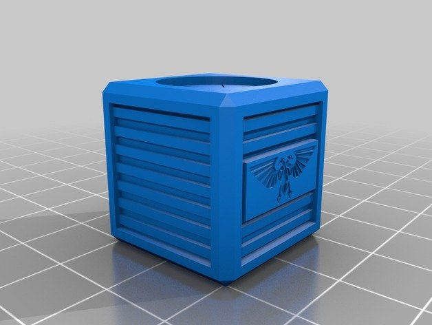 40K Imperial Crate